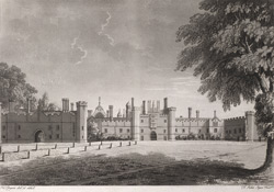 West Front of the Royal Palace of Hampton Court